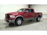 2011 Deep Cherry Red Crystal Pearl Dodge Ram 1500 SLT Outdoorsman Quad Cab 4x4 #49657400