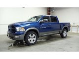 2011 Deep Water Blue Pearl Dodge Ram 1500 SLT Outdoorsman Crew Cab 4x4 #49657401