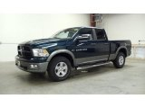 2011 Hunter Green Pearl Dodge Ram 1500 SLT Outdoorsman Quad Cab 4x4 #49657403