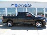 2005 Black Dodge Ram 1500 SRT-10 Quad Cab #49657100