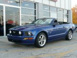 2006 Vista Blue Metallic Ford Mustang GT Premium Convertible #42912