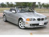 2001 Titanium Silver Metallic BMW 3 Series 325i Convertible #49657237