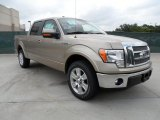 2011 Pale Adobe Metallic Ford F150 Lariat SuperCrew #49657137