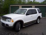 2003 Oxford White Ford Explorer Eddie Bauer 4x4 #49694914