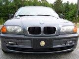 2001 Steel Grey Metallic BMW 3 Series 325i Sedan #49695400