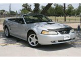 2000 Silver Metallic Ford Mustang GT Convertible #49695253