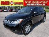 2005 Super Black Nissan Murano SE #49695407