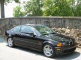 2000 Jet Black BMW 3 Series 328i Coupe #49694952