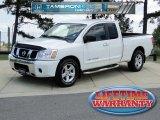 2007 White Nissan Titan SE King Cab #49695412