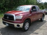 2010 Salsa Red Pearl Toyota Tundra Double Cab 4x4 #49694828