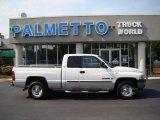 2001 Bright White Dodge Ram 1500 SLT Club Cab #49695138