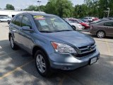 2010 Glacier Blue Metallic Honda CR-V EX-L AWD #49695287