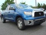 2007 Blue Streak Metallic Toyota Tundra SR5 Double Cab #49694861
