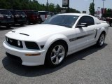 2007 Ford Mustang Performance White