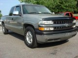 1999 Light Pewter Metallic Chevrolet Silverado 1500 LT Extended Cab #49694880