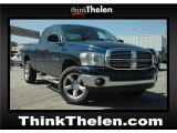 2007 Patriot Blue Pearl Dodge Ram 1500 Big Horn Edition Quad Cab 4x4 #49695486