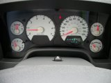 2007 Dodge Ram 1500 SLT Regular Cab 4x4 Gauges