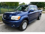 2005 Spectra Blue Mica Toyota Tundra Limited Double Cab 4x4 #49695043