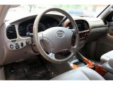 2005 Toyota Tundra Limited Double Cab 4x4 Taupe Interior