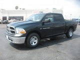 2011 Hunter Green Pearl Dodge Ram 1500 ST Crew Cab 4x4 #49695215