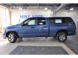 2004 Atlantic Blue Pearl Dodge Ram 1500 ST Quad Cab #49695050