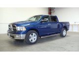 2011 Deep Water Blue Pearl Dodge Ram 1500 Big Horn Crew Cab 4x4 #49695525