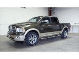 2011 Rugged Brown Pearl Dodge Ram 1500 Laramie Longhorn Crew Cab 4x4 #49695526