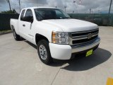 2008 Summit White Chevrolet Silverado 1500 LT Extended Cab #49695065