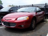 2002 Ruby Red Pearl Chrysler Sebring LXi Convertible #49748572