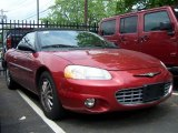 2002 Chrysler Sebring Ruby Red Pearl