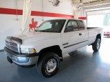 2001 Bright White Dodge Ram 2500 SLT Quad Cab 4x4 #49747957