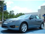 2011 Steel Blue Metallic Ford Fusion SE #49748134