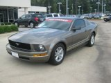 2005 Mineral Grey Metallic Ford Mustang V6 Premium Coupe #49748433