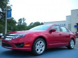 2011 Red Candy Metallic Ford Fusion SE #49748139
