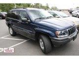 2002 Patriot Blue Pearlcoat Jeep Grand Cherokee Laredo 4x4 #49747967