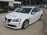 2009 White Hot Pontiac G8 Sedan #49748437