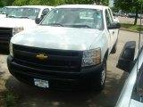 2011 Summit White Chevrolet Silverado 1500 Extended Cab #49747993