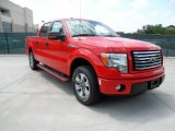 2011 Race Red Ford F150 XLT SuperCrew #49748292