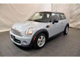 2011 Ice Blue Mini Cooper Hardtop #49748030