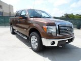 2011 Golden Bronze Metallic Ford F150 XLT SuperCrew 4x4 #49748295