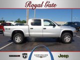 2003 Bright Silver Metallic Dodge Dakota SLT Quad Cab 4x4 #49748047