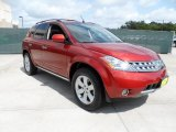 2007 Sunset Red Pearl Metallic Nissan Murano SL #49748303