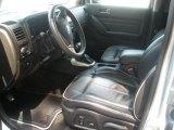 2009 Hummer H3 Championship Series Ebony/Pewter Interior