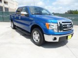 2010 Blue Flame Metallic Ford F150 XLT SuperCrew #49748306