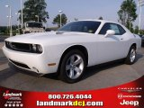 2011 Bright White Dodge Challenger SE #49748213
