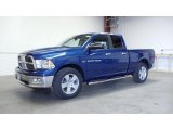 2011 Deep Water Blue Pearl Dodge Ram 1500 Big Horn Quad Cab 4x4 #49748687