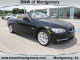 2011 Jet Black BMW 3 Series 328i Convertible #49748327