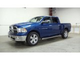 2011 Deep Water Blue Pearl Dodge Ram 1500 Big Horn Crew Cab 4x4 #49748692