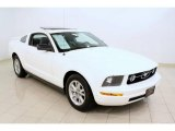 2006 Performance White Ford Mustang V6 Premium Coupe #49748517