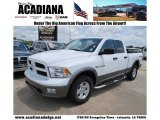 2010 Stone White Dodge Ram 1500 TRX Quad Cab #49748249